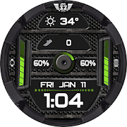 Z SHOCK 12 color changer watchface for WatchMaker