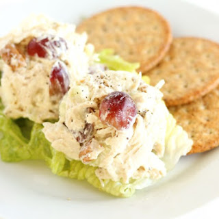 Healthy Greek Yogurt Chicken Salad Recipe