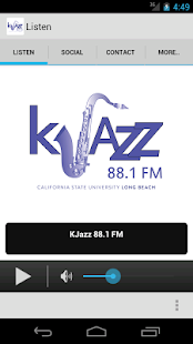 KJazz 88.1- screenshot thumbnail