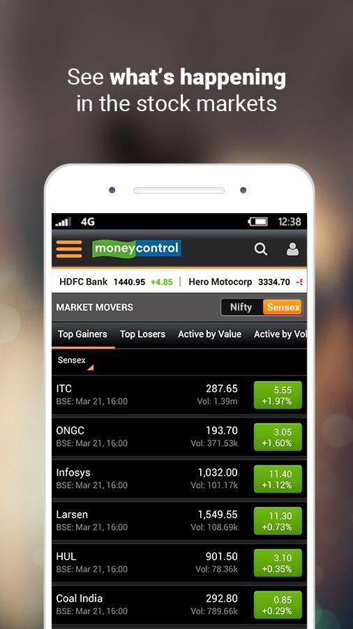 Moneycontrol – Stocks, Sensex, Mutual Funds, IPO Screenshot 2