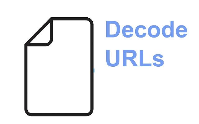 Decode URLs