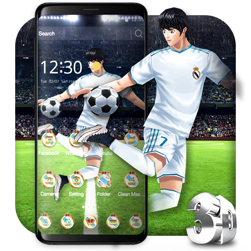 3D Madrid Football Dribbler Theme file APK Free for PC, smart TV Download