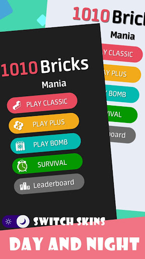 1010 Bricks Mania-Time Killer