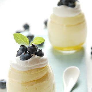 Lemon Mousse With Lemon Curd Recipes.