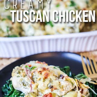 Creamy Tuscan Garlic Chicken Recipe