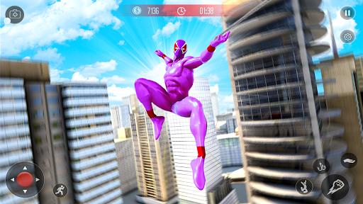 Amazing Spider Crime Hero: Gangster Rope Hero Game 3 screenshots 1