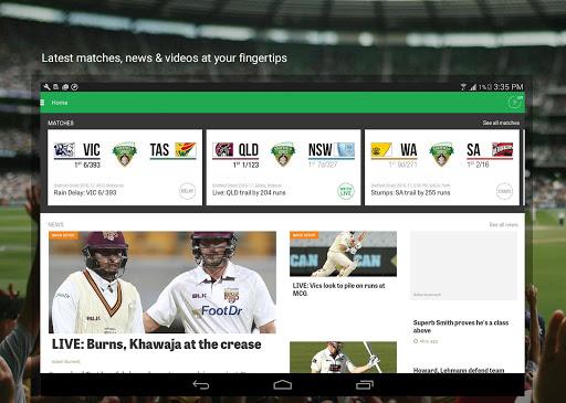 Cricket Australia Live 4.5.1 screenshots 6
