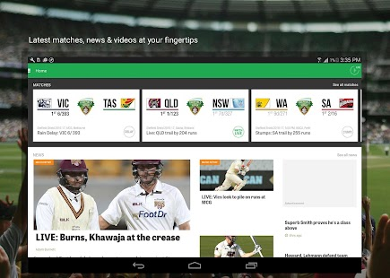 Cricket Australia Live- screenshot thumbnail