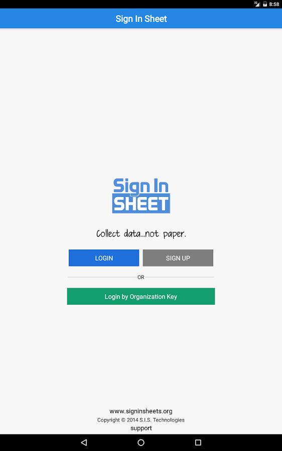 Sign In Forms- screenshot