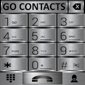 THEME GO CONTACTS SILVER METAL