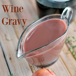 Red Wine Gravy