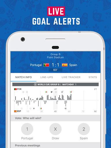 LiveScore: World Football 2018 2.2.4 screenshots 2