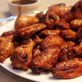 Honey Garlic Sriracha Wings.