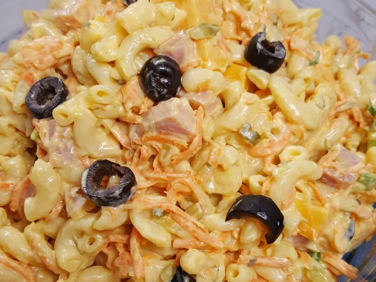 Macaroni Salad Recipe With Olives