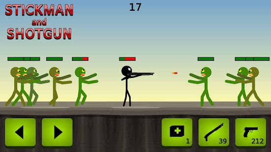 Stickman and Shotgun- screenshot thumbnail