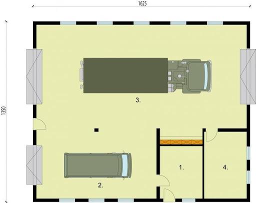G231 - Rzut garażu