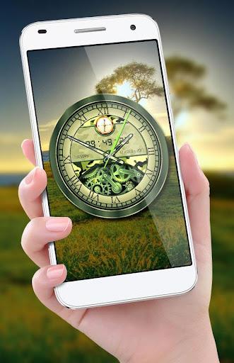 Army Clock Live Wallpaper 2018: Analog 3D Clock 1.8 screenshots 2