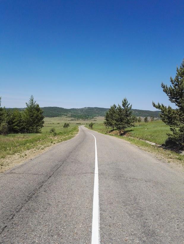 Дорога на Елизаветино