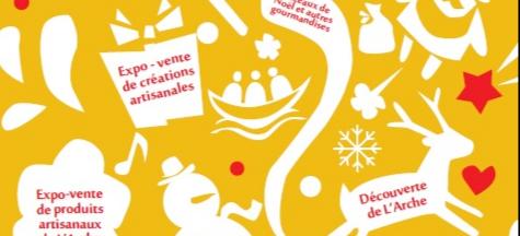 Marché de Noël - L'Arche à Nancy