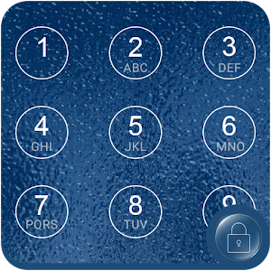 Blue Water Applock theme apk