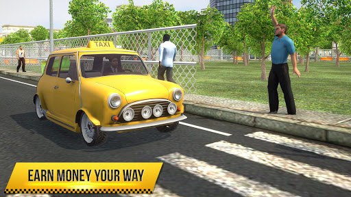 Taxi Simulator 2018  screenshots 1