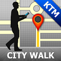 Kathmandu Map and Walks icon