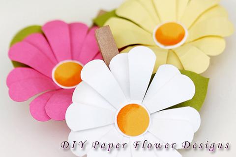 DIY Paper Flower Designs