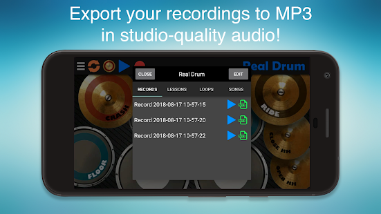 App Real Drum - The Best Drum Pads Simulator APK for Windows Phone