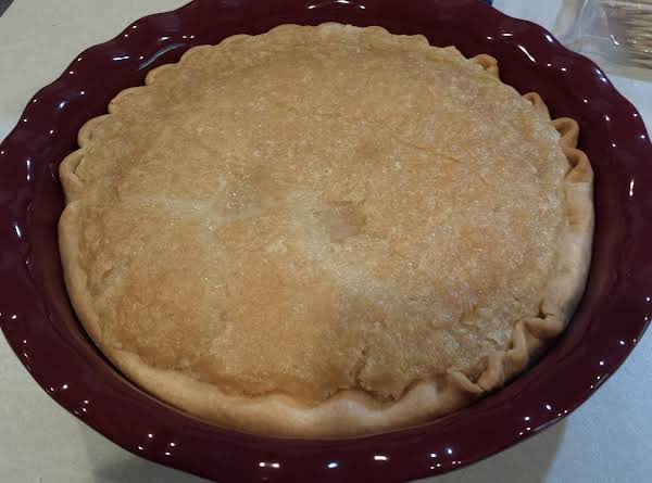 Sugar Cream Pie (over 160 Year Old Recipe)