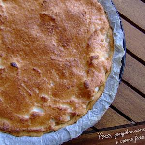 Pear Tart with Meringue