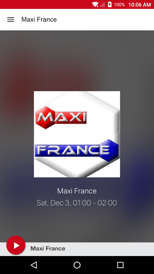 Maxi France- screenshot