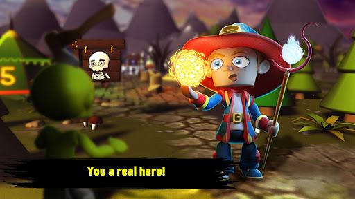 Heroes of Math and Magic  screenshots 1