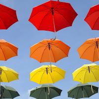 pioggia di colori di