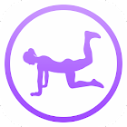 Daily Butt Workout - Booty & Leg Fitness Exercises icon