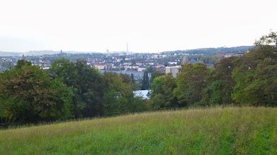 Photo: Blick vom Postkopf auf Boelerheide und Altenhagen.. In der Bildmitte befinden sich (weitgehend verdeckt) die Eckeseyer Brücke und der Güterbahnhof.