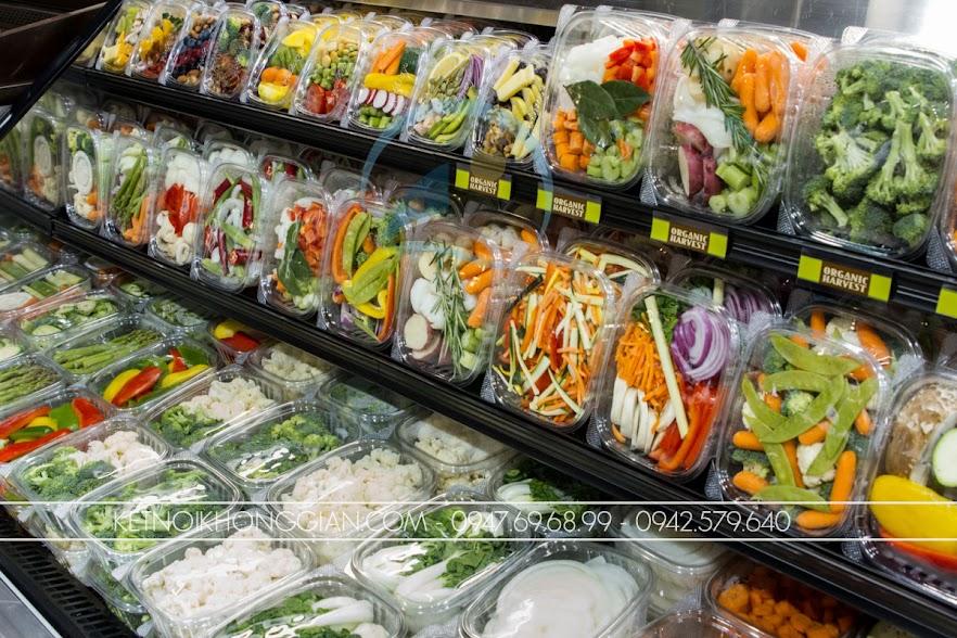 thiết kế siêu thị mini hiện đại