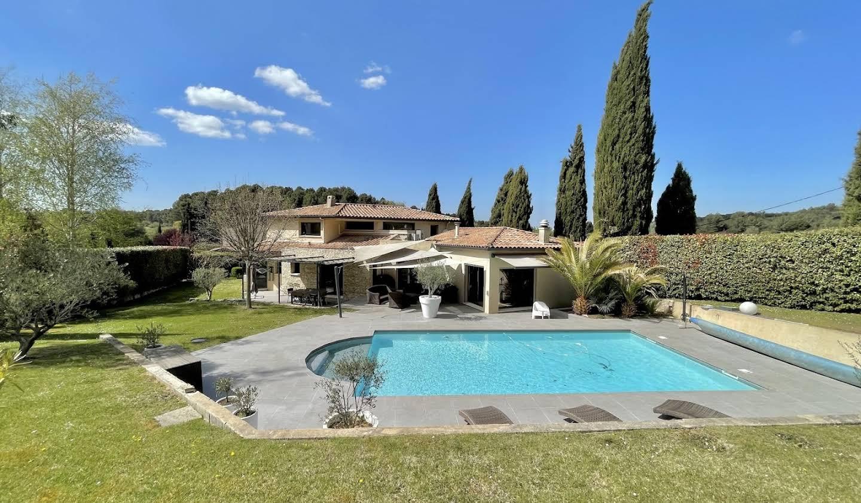 Villa avec piscine et jardin Aix-en-Provence