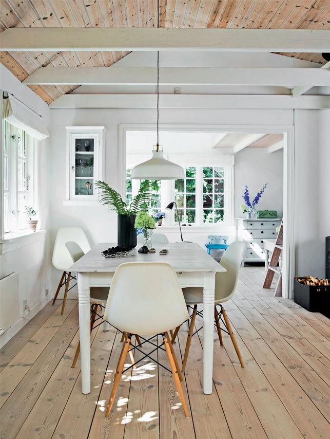 skandinávský styl interiéru
