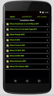 Chris Brown Full Album Lyrics - náhled