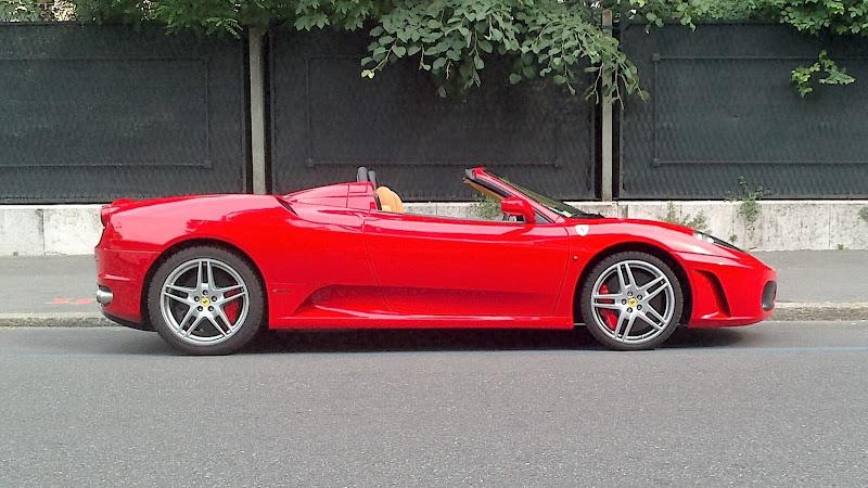 Rosso Ferrari di pandi