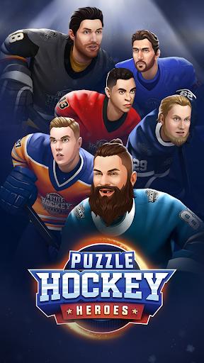 Puzzle Hockey  captures d'u00e9cran 1