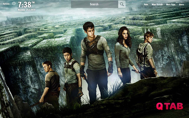 Maze Runner New Tab Wallpapers