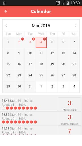 Abs workout 7 minutes screenshot 2