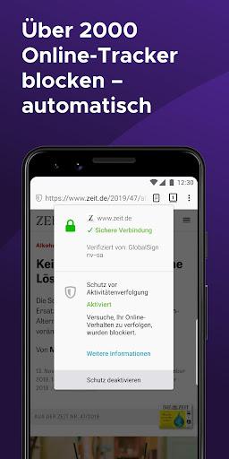 Firefox Browser: schnell, privat & sicher screenshot 4