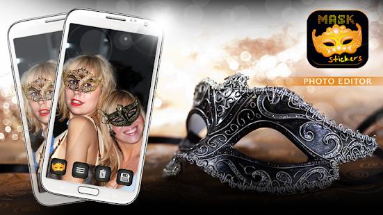 Mask Stickers Photo Editor screenshot