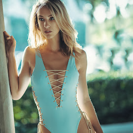 Chloe by Sean Malley - People Fashion ( beauty, bikini, sexy, natural light, swimsuit, model, blonde, sun, swim, fashion )