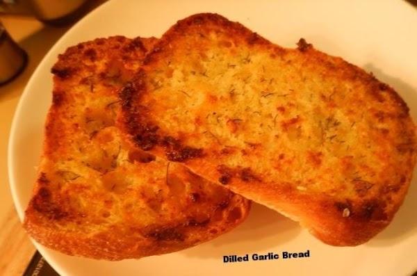 Dilled Garlic Bread Recipe