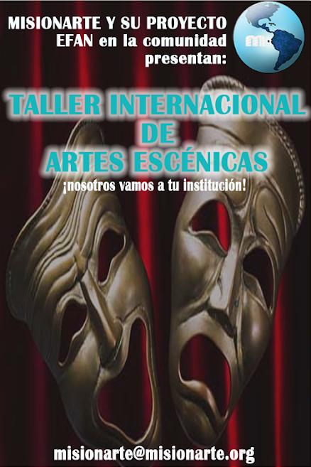 Taller Internacional de Artes Escénicas