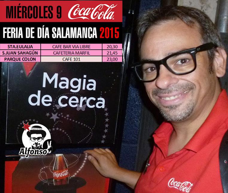 magia de cerca coca-cola-programación Alfonso V 2015