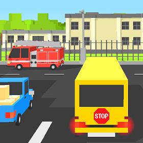Школьный автобус Блочный